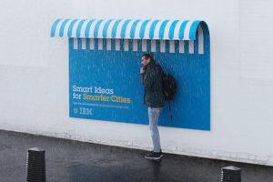 IBM OOH kreativní řešení